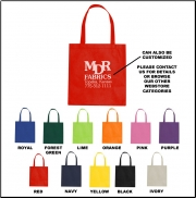 Non-Woven Promotional Shopping Tote Bag - Blank