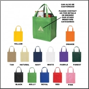Non-Woven Grocery Tote Bag - Blank
