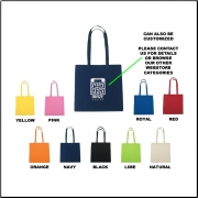 100% Cotton Tote Bag - Blank